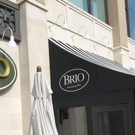 BRIO Tuscan Grille: Easy to find!