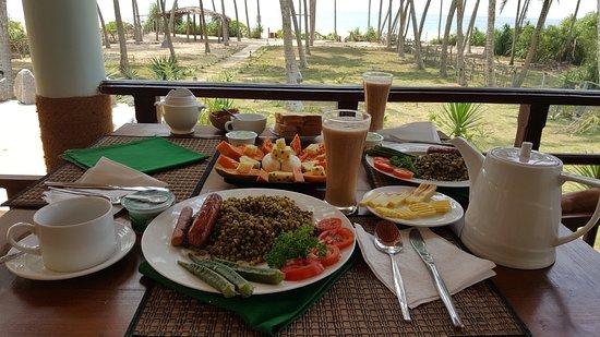 Kahandamodara, Σρι Λάνκα: Ужин с видом на океан