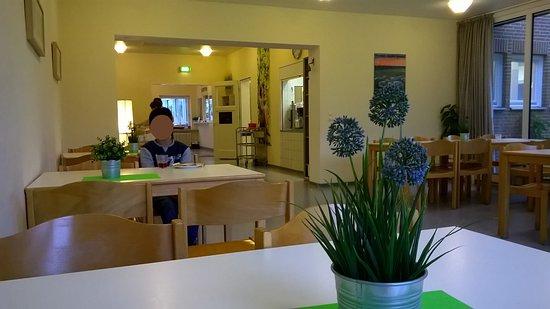 Heide, Deutschland: Blick zur Rezeption