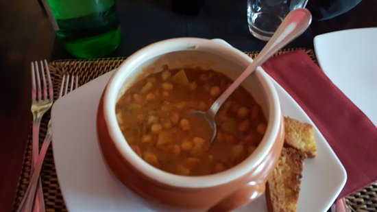 Casaprota, Italia: zuppa legumi ... buoonaaa!!