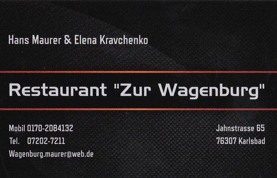 Zur Wagenburg Karlsbad Recenzje Restauracji Tripadvisor