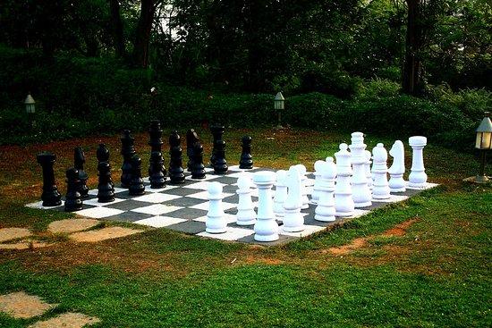 Club Mahindra Madikeri, Coorg: life size chess
