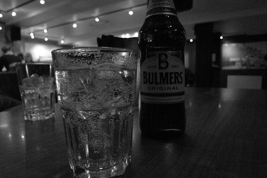 Svalbar: I was very pleased to find they have my favourite cider, Bulmers in this bar!