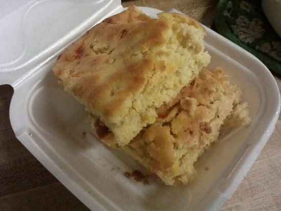 Lake Worth, FL: Delicious corn bread