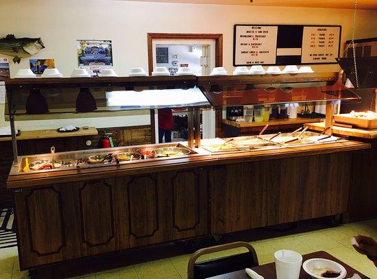 Leesville, SC: The buffet