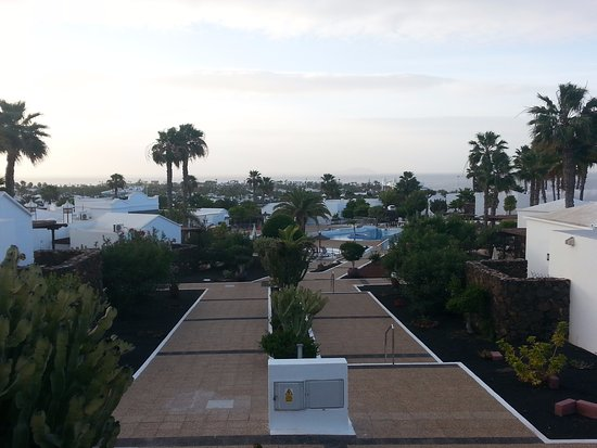 Sunset view from bungalow picture of jardines del sol playa blanca tripadvisor - Jardin de sol playa blanca ...