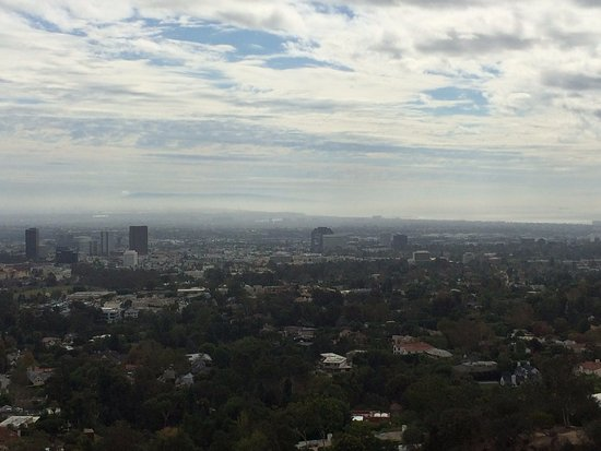 One of the views from The Getty Center