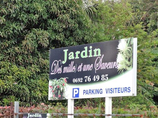 Jardin des 1001 saveurs saint andre for Jardin 1001 saveurs