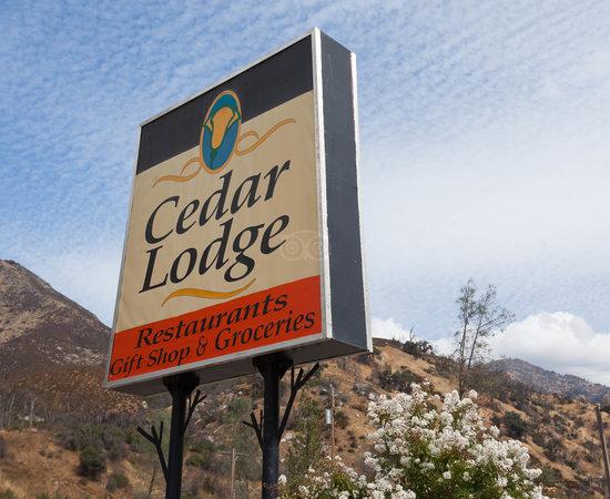 Cedar Lodge Bar Restaurant El Portal Ca