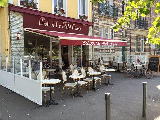Bistrot le petit paris chartres restaurant avis num ro for Bon restaurant chartres