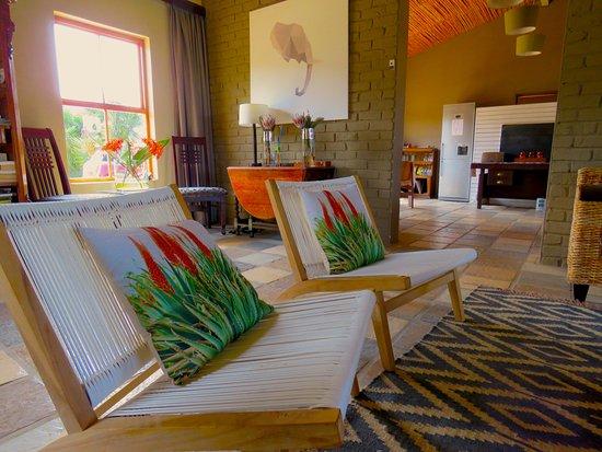 Kirkwood, Sudáfrica: Lounge area