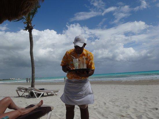 Secrets Maroma Beach Riviera Cancun: The Best Beach server