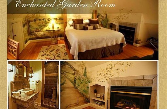 Radford, VA: Enchanted Garden Suite - King Bed