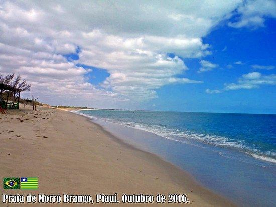 Barra Grande, PI: Praia Morro Branco, Piauí