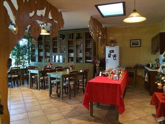 Addobbi natalizi nella sala colazione - Foto di Le storie di Bambù ...