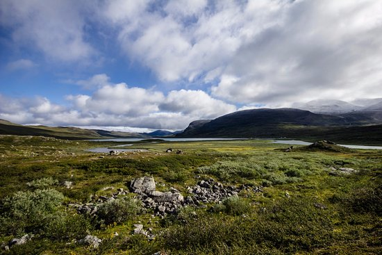 Kungsleden : The nature variies a lot