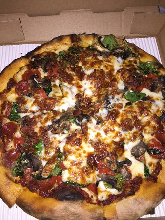 Reynoldsburg, OH: Our personal fave- pepperoni, mushroom, and spinach