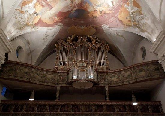 Evangelische Dreieinigkeitskirche: орган