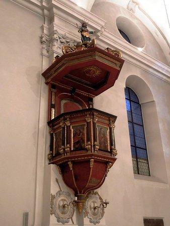 Evangelische Dreieinigkeitskirche: кафедра