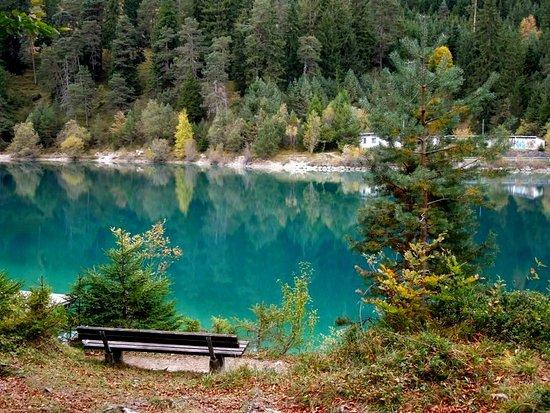 Reutte, Austria: На озере