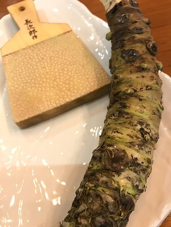 Yuba Restaurant: Korean wasabi steam