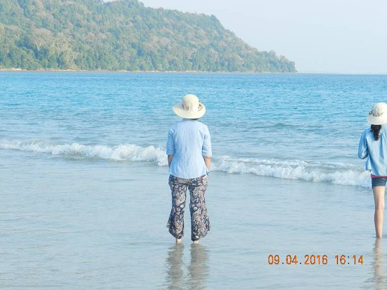 Radhanagar Beach: Crystal clear beach