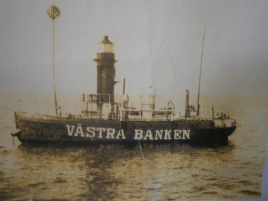 """Petite Calivigny, Grenada: Fyrskeppet under sin """"tjänstgöringstid"""" i Sverige !"""