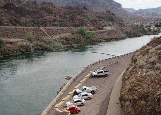 Colorado River Parker Dam Area Az