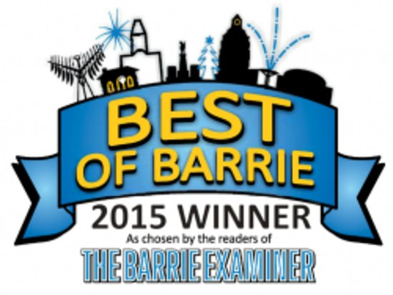 Voted Best of Barrie 4 years in a Row for Aesthetics