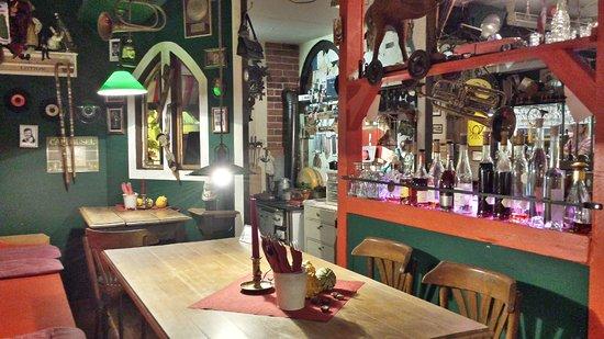 Oma´s London-Taxi an der Seebrücke Binz - Bild von Oma\'s Küche ...