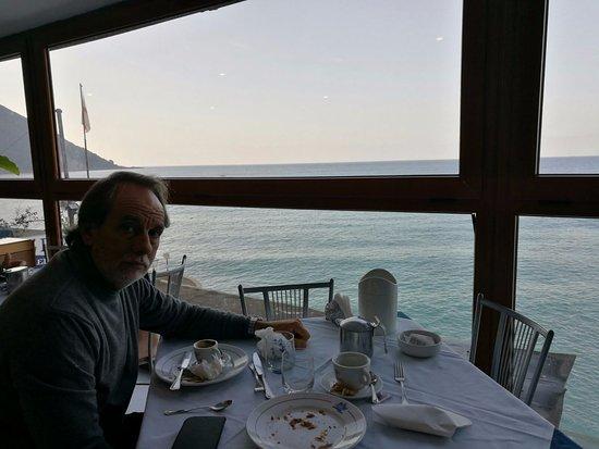 Hotel Casmona: Colazione ..con vista