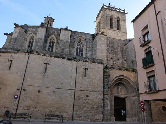 Santa Coloma de Queralt, Espanha: Iglesia de Sta. Coloma de Queralt (Tarragona)