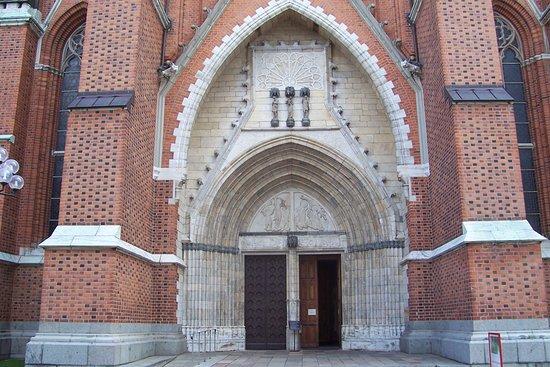 Uppsala, Sweden: Кафедральный собор Уппсалы