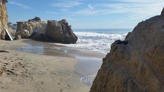 El Matador State Beach Rocks At