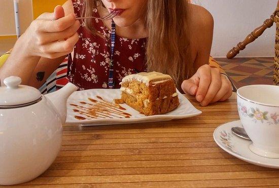 Mademoiselle Plume: Carrot cake