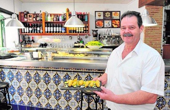 La Alberca, Spanien: El jefe, sin él este añorable restaurante no tendría la categoría que tiene.