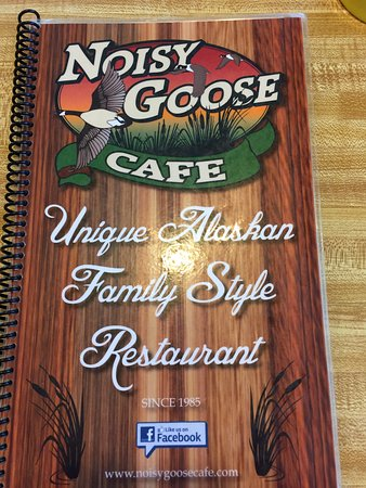 Cover of the Noisy Goose Cafe Menu