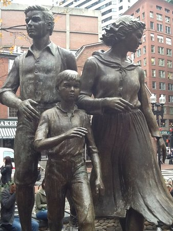 Boston Irish Famine Memorial