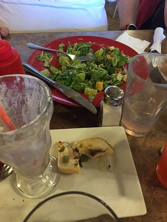 Grangeville, ID : Great Caesar salmon salad