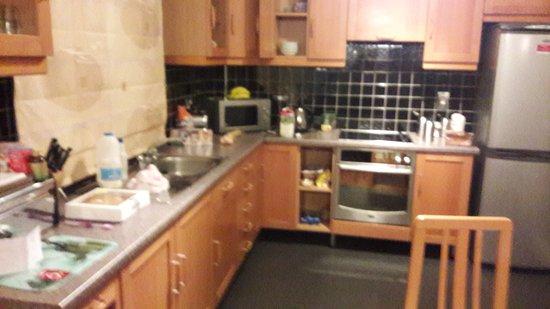 Gleneagle Hotel: kitchen