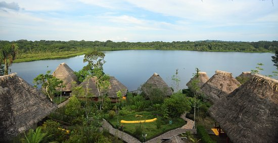 Napo Wildlife Center Ecolodge: View from the lodge tower