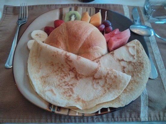 Saint-Jean-des-Piles, Canadá: une partie du petit déjeuner.....