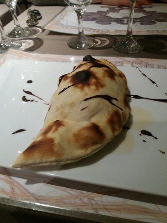 Haute-Saone, Frankrig: Chausson bananes et chocolat, sublime