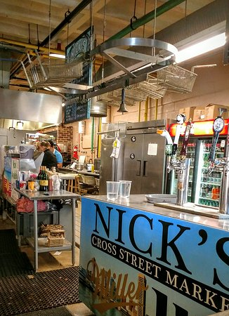Nick's Inner Harbor Seafood : LOCAL. DELICIOUS. AFFORDABLE. FUN. MUST. DO!