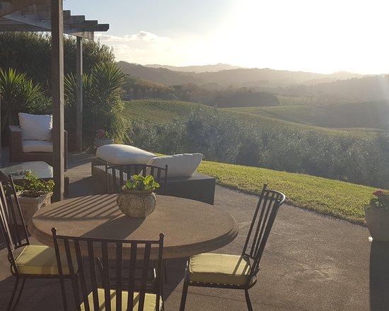 Warkworth, New Zealand: Outdoor patio