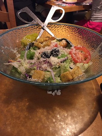 olive garden free salad bowl for one - Olive Garden Naples