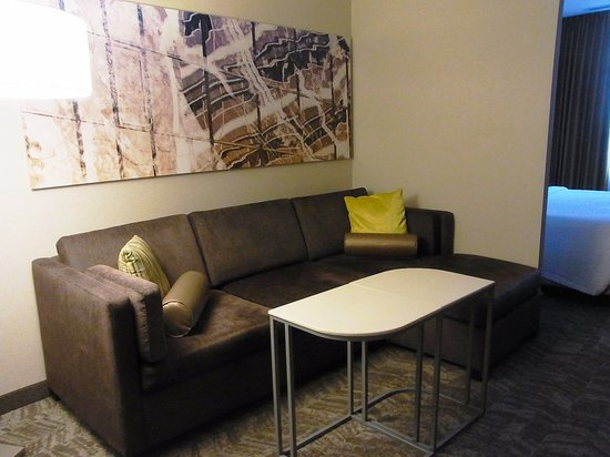 Sitting area sofa bed picture of springhill suites for Sofa bed 8101