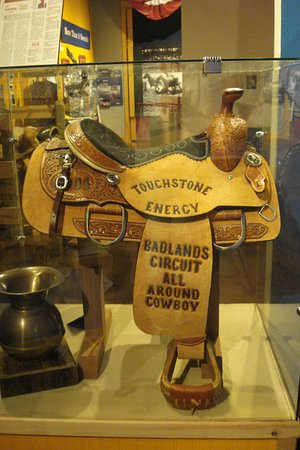 Days of '76 Museum: Saddle