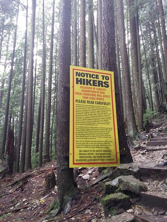 North Vancouver, Kanada: hikers be warned