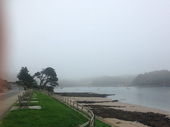 St Mawes, UK: We retreated from the mists